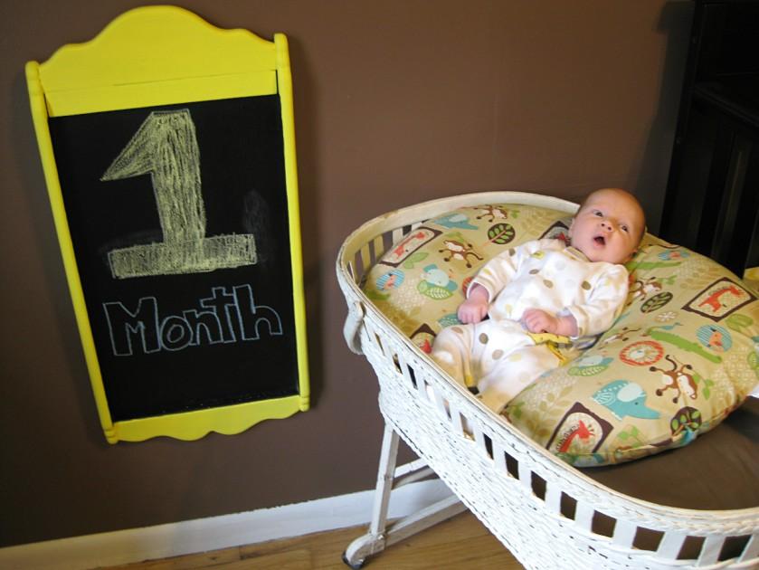 Samuel 1 month 1