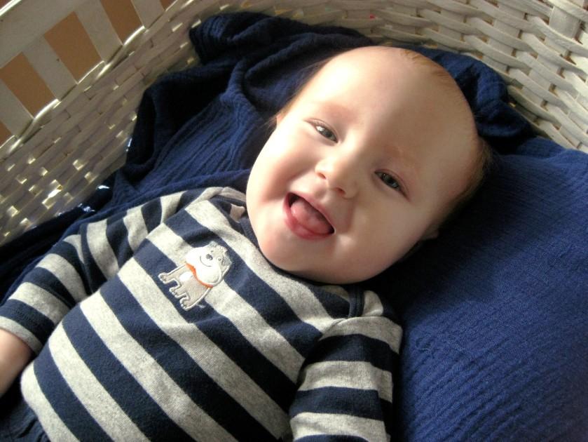 Samuel 9 Month 1