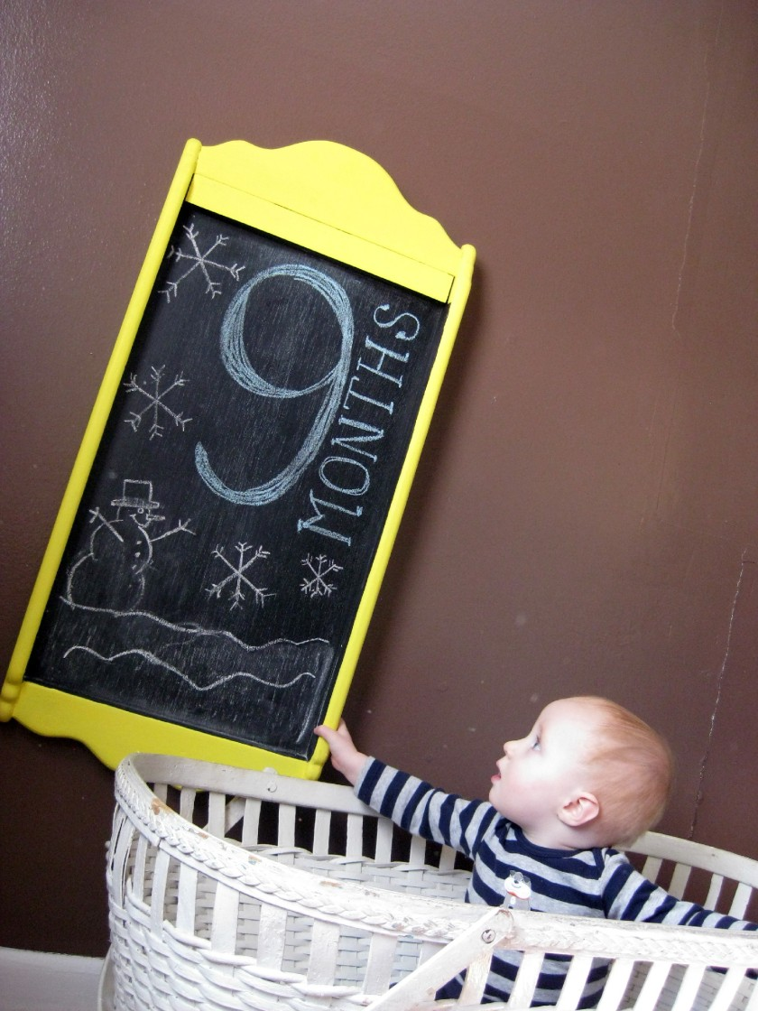 Samuel 9 Months 6