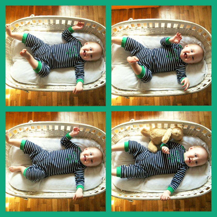 Baby 11 Month Photo Collage